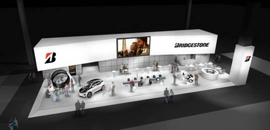 Bridgestone al Salone di Parigi 2014
