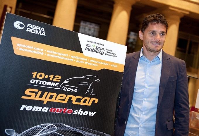 Supercar, il padrino dell'auto show romano sarà Giancarlo Fisichella
