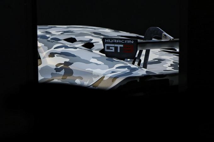Lamborghini Huracán GT3, primi test in pista a Vallelunga