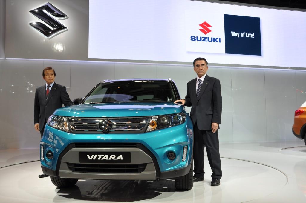 Suzuki Vitara MY 2015, la nuova vita del SUV compatto