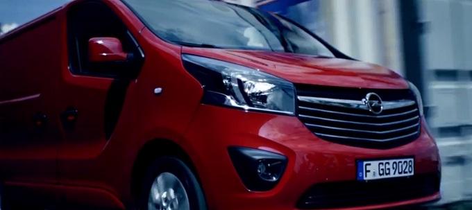 Nuovo Opel Vivaro, un video celebra la seconda generazione