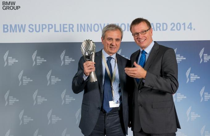 Pirelli premiata da BMW come il fornitore più innovativo nella categoria qualità