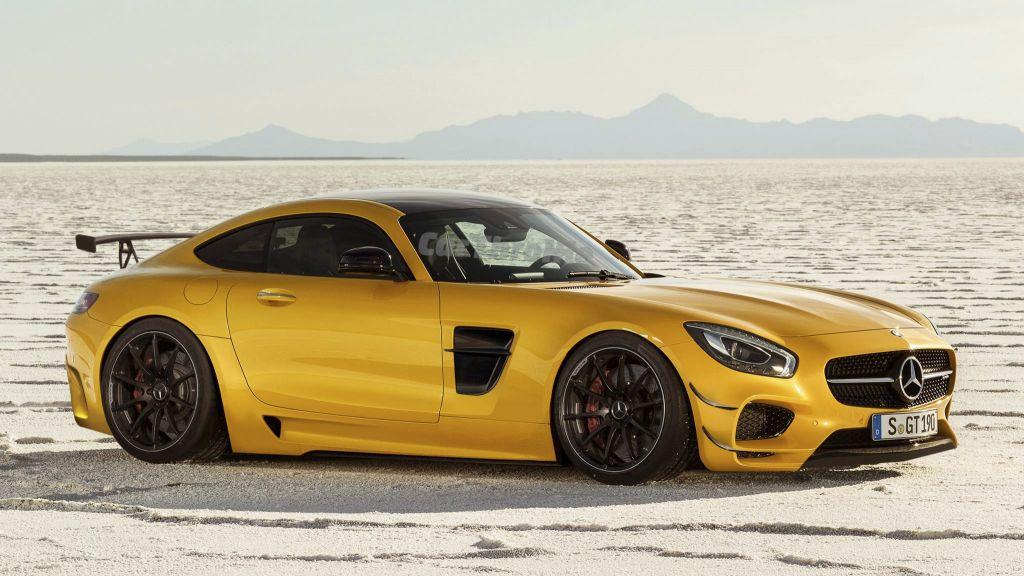 Mercedes AMG GT Black Series, l'anno giusto potrebbe essere il 2018