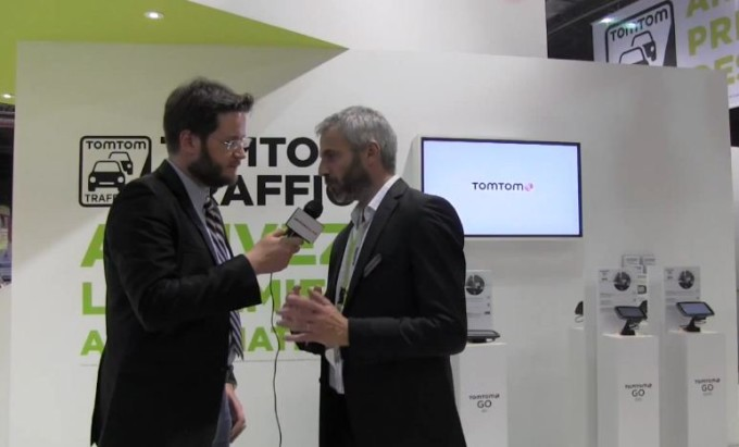 TomTom al Salone di Parigi: il futuro dei navigatori GPS [VIDEO INTERVISTA ESCLUSIVA]