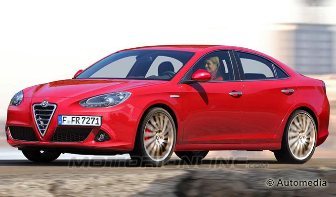 Alfa Romeo Giulia, anteprima speciale della rivoluzione di Marchionne [RENDERING]