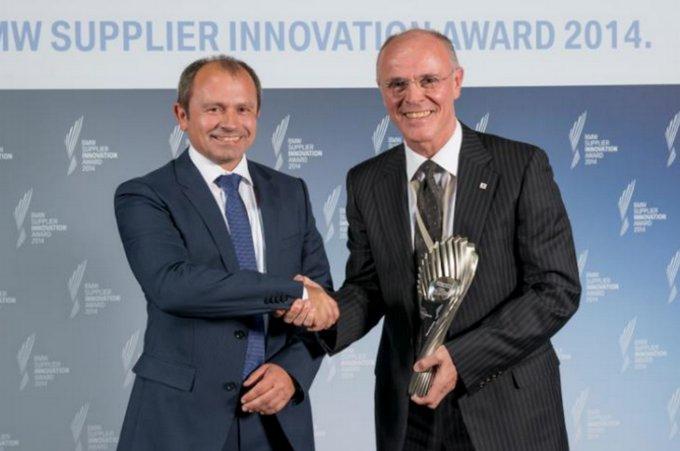 Bridgestone: la Ologic Technology premiata con il BMW Innovation Supplier