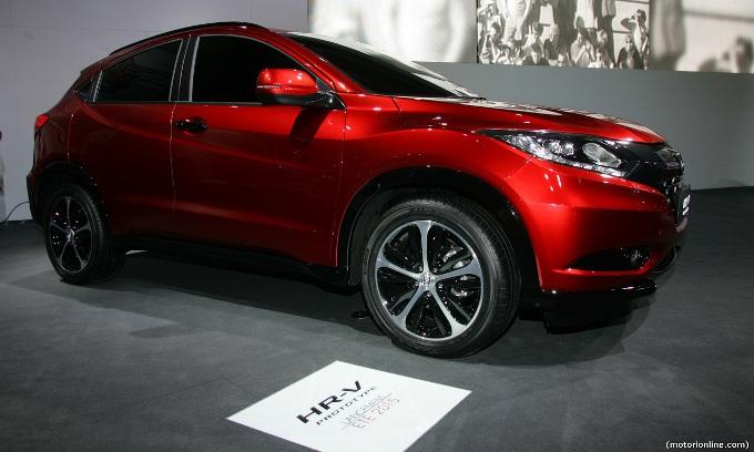 Honda HR-V - Salone di Parigi 2014