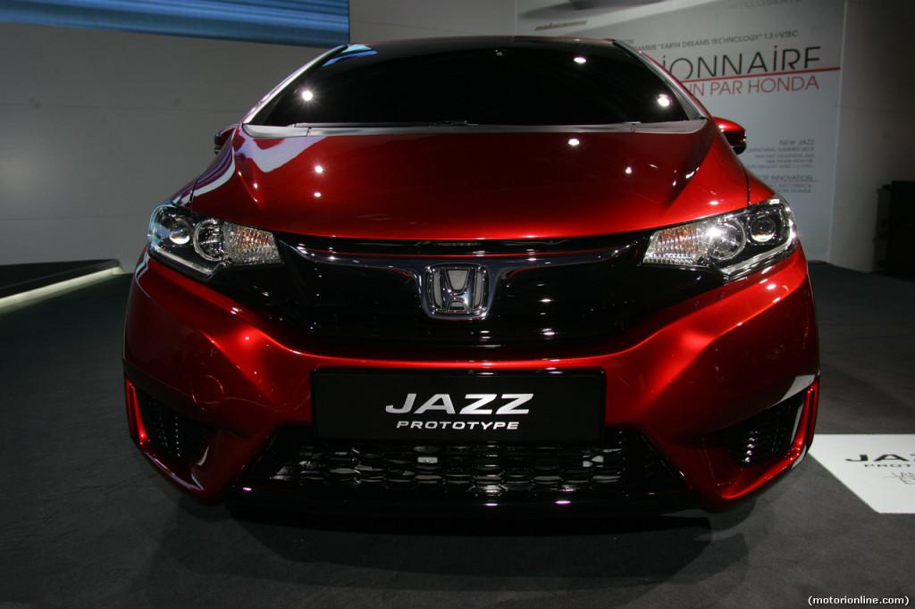 Nuova Honda Jazz - Salone di Parigi 2014