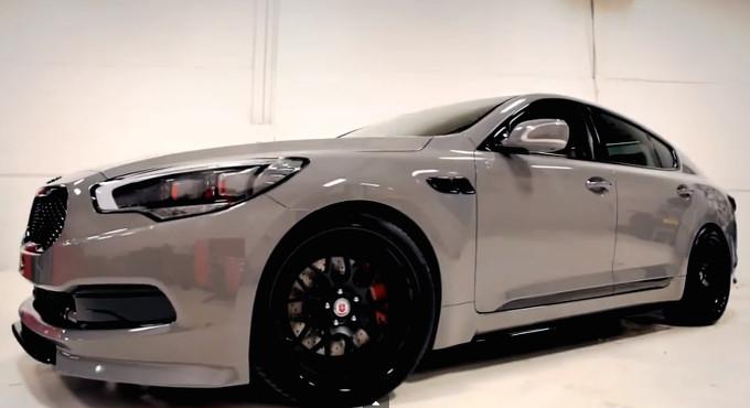 KIA K900 High-Performance debutto al SEMA (Video)