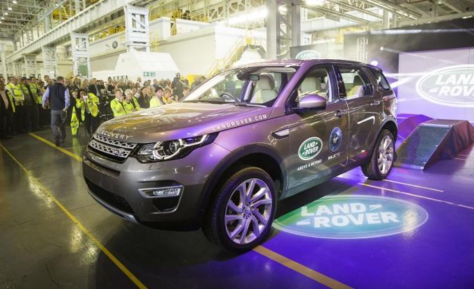 Land Rover Discovery Sport, inizia la produzione