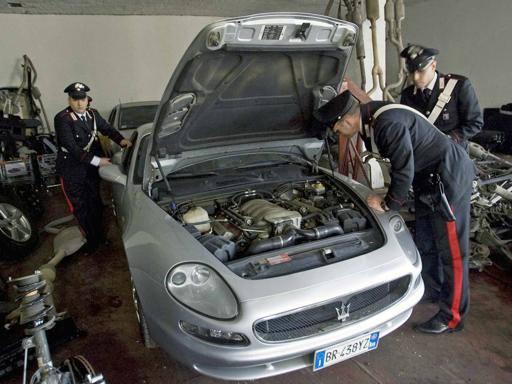 Ladri del lusso: ritrovate macchine per un valore di oltre 5 milioni di euro