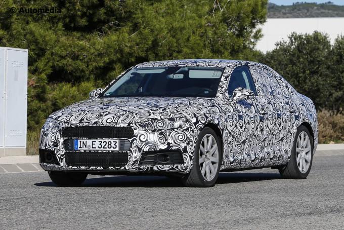 Audi A4 2016 - Foto spia 14-11-2014