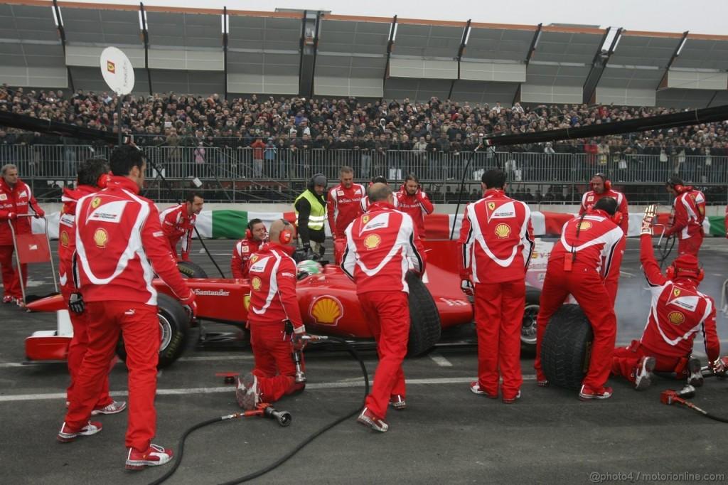 Motor Show 2014: la Scuderia Ferrari infiammerà la giornata di chiusura