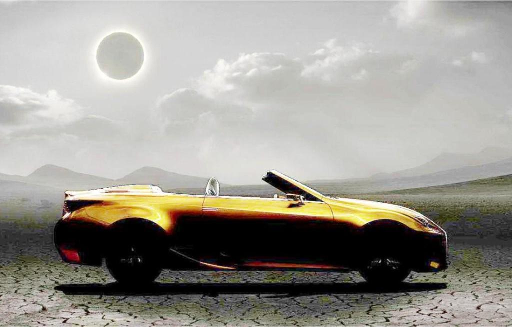 Lexus LF-C2 Concept, nuova immagine a far maggior chiarezza sulla scoperta nipponica