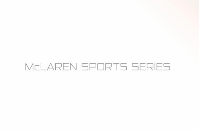 McLaren Sports Series, c'è l'annuncio di Woking: arriva nella primavera 2015