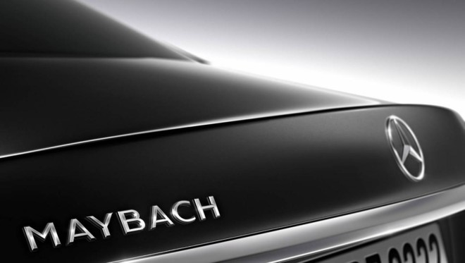 Mercedes Classe S Maybach - teaser (2)