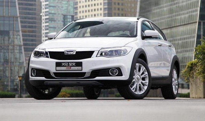 Qoros 3 City SUV 2014