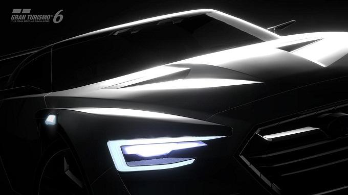 Subaru Viziv GT Vision Gran Turismo, il video teaser della nuova concept car da videogame