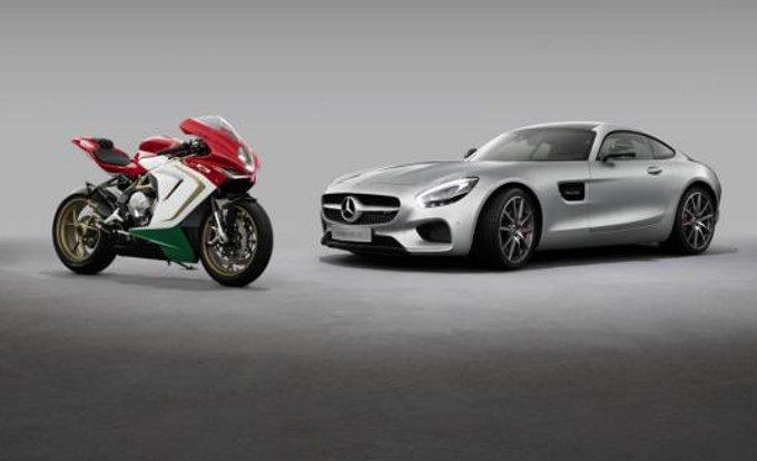 Mercedes AMG e MV Agusta: nuovi dettagli sulla partnership