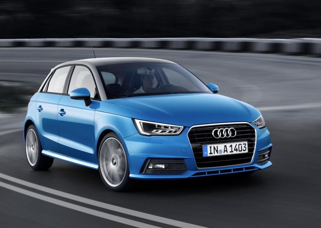 Audi A1 MY 2015 pronta al lancio sul mercato italiano: prezzi da 20.300 euro