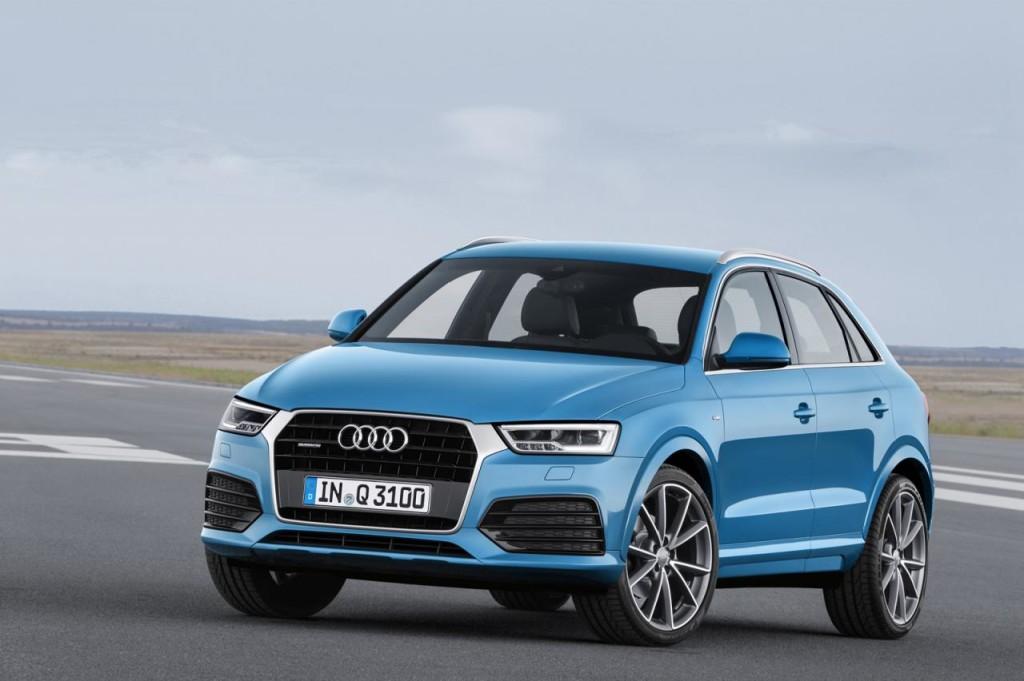 Nuova Audi Q3, informazioni per il mercato italiano: prezzi da 31.900 euro