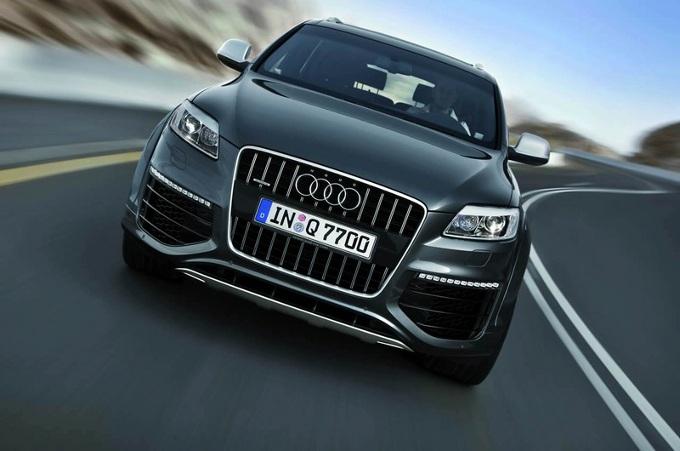 Audi Q7 e-tron, lancio previsto per il prossimo anno