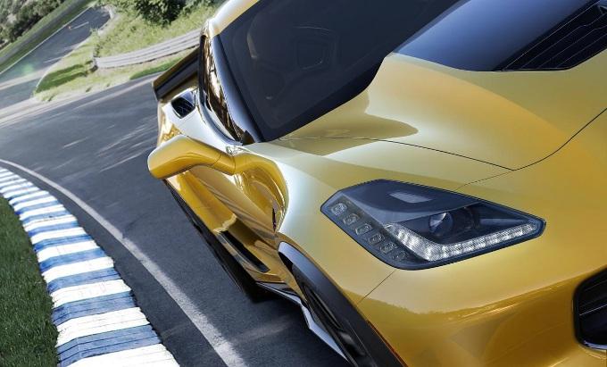 Chevrolet Corvette Z06 by Hennessey, anteprima della sua potenza devastatrice