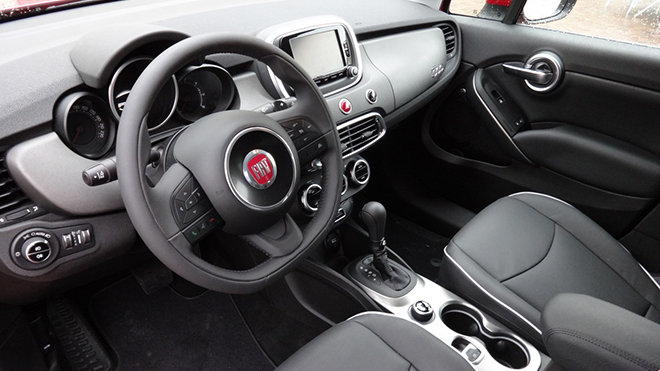 fiat 500x primo contatto foto e video. Black Bedroom Furniture Sets. Home Design Ideas