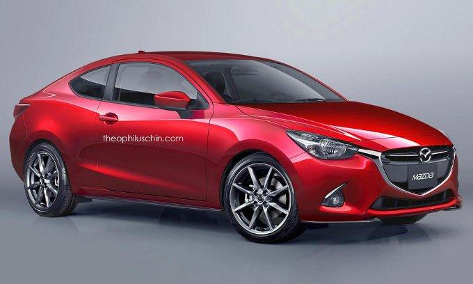 Mazda2 Coupe - rendering