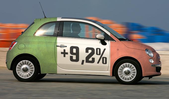 Mercato auto Italia 2014: a ottobre passo avanti del 9,2%