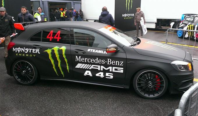 Monza Rally Show 2014: domenica è la giornata di Lewis Hamilton