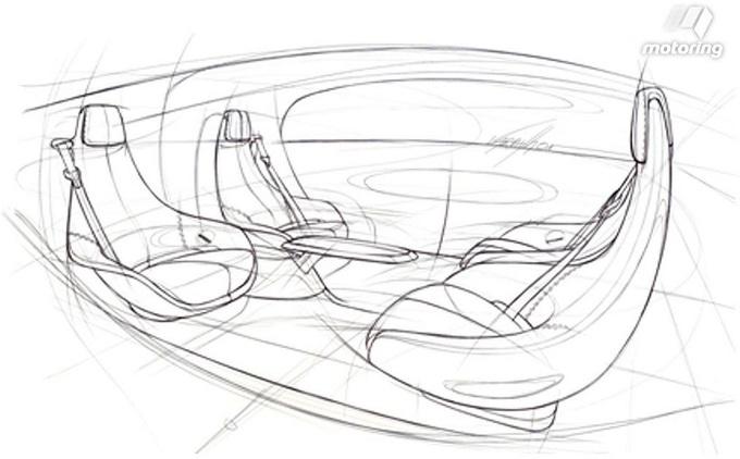 Mercedes anticipazione degli interni del concept con for Guida interni