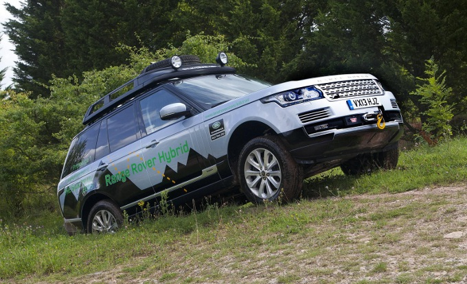Range Rover, si pensa ad un modello destinato all'utilizzo off-road