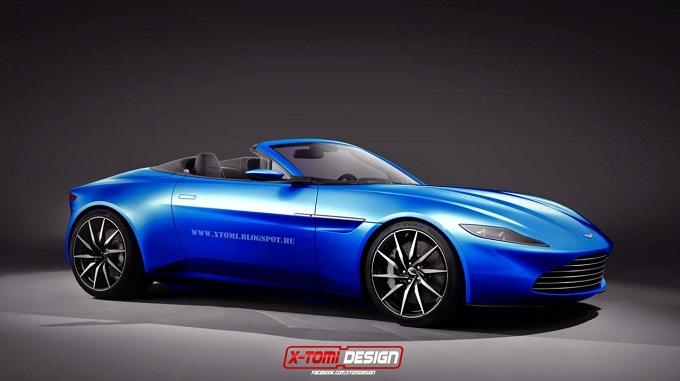 Aston Martin DB10: sul web il rendering della versione Volante