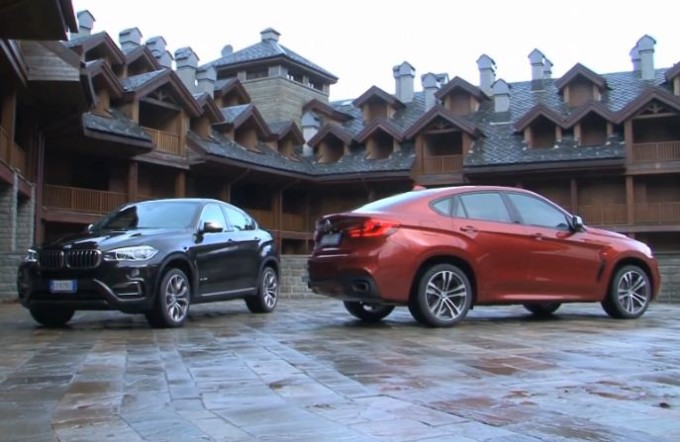 BMW X6 e X6 M MY 2015, audacia e disinvoltura in bella mostra [VIDEO]
