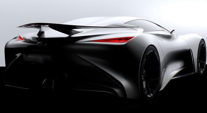 Infiniti Concept Vision Gran Turismo, teaser del prototipo virtuale