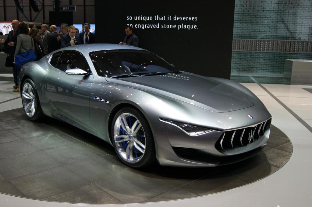Maserati Alfieri, produzione al via nel 2016