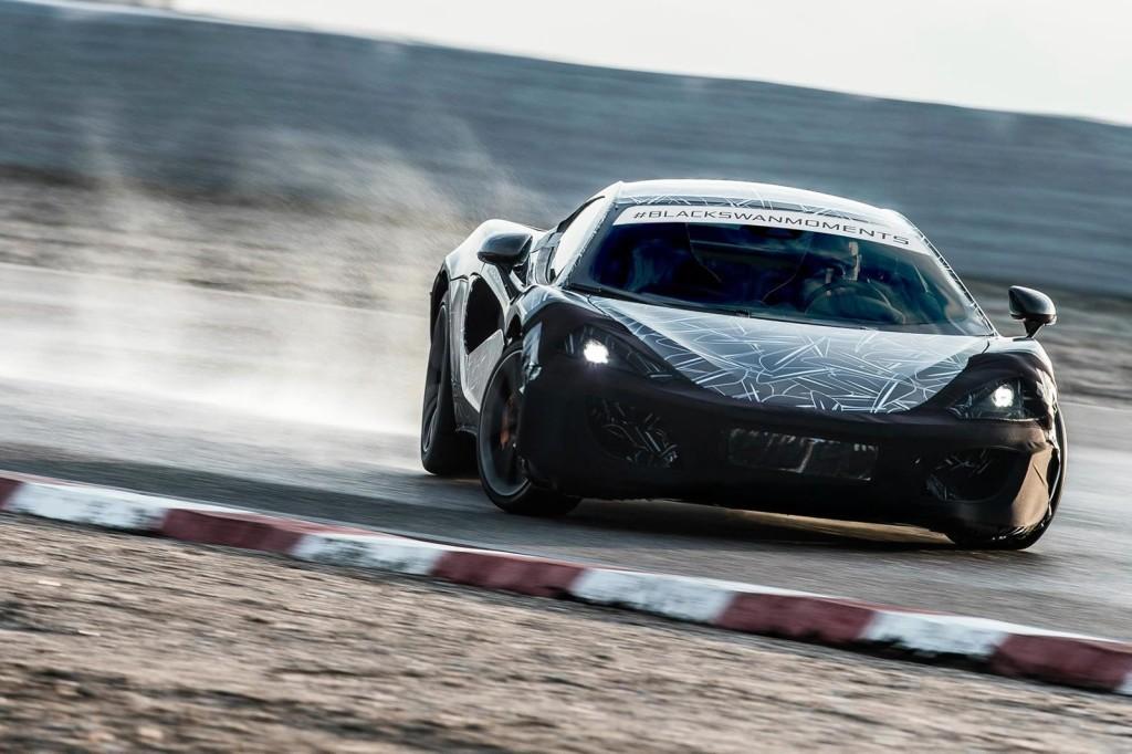 McLaren Sports Series: nuova immagine teaser