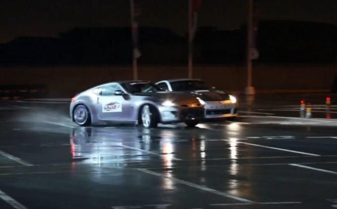 Nissan 370Z protagonista da Guinness World Record per il drifting di coppia più lungo [VIDEO]