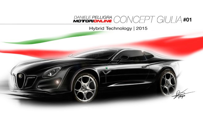 Alfa Romeo Giulia Concept #01
