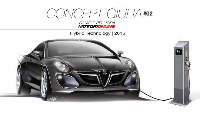 Alfa Romeo Giulia Concept #02