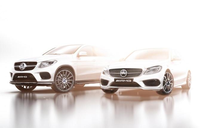 Mercedes C 450 e GLE 450 Coupé AMG Sport, confermate per il Salone di Detroit