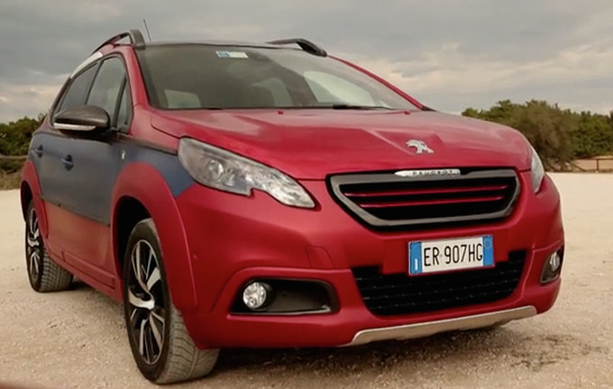 """Peugeot 2008 Castagna, city crossover """"Normally Chic"""""""