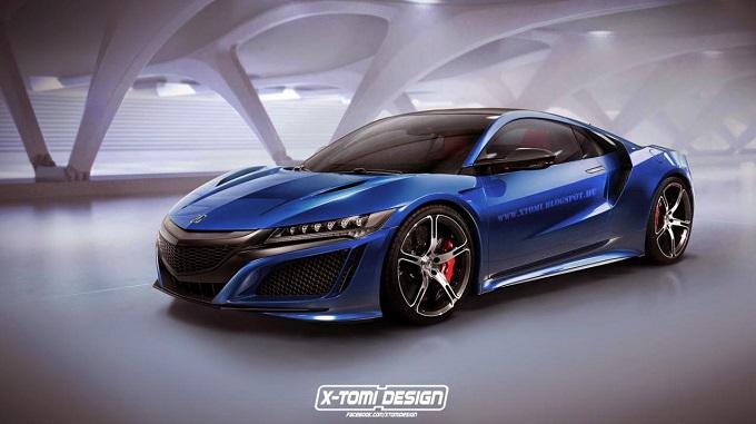 Acura NSX Type R by X-Tomi Design, l'ungherese immagina il nuovo modello [RENDERING]