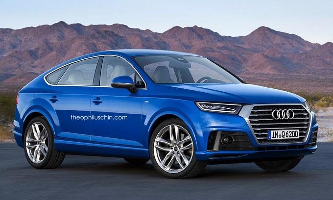Audi Q6, arriva in un rendering la rivale della X6 e della Coupé CLE [RENDERING]