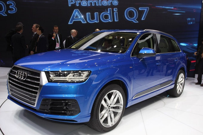 Nuova Audi Q7 Da Detroit Arrivano Le Foto Live