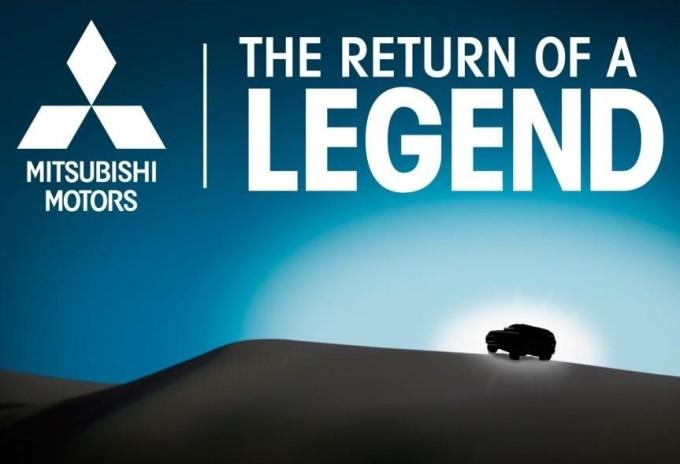 Mitsubishi, teaser annuncia il ritorno della leggenda al Chicago Auto Show 2015