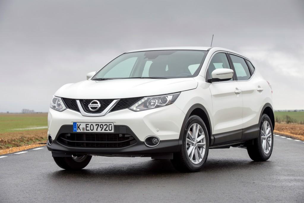 Nissan Qashqai è la family car compatta più sicura del 2014