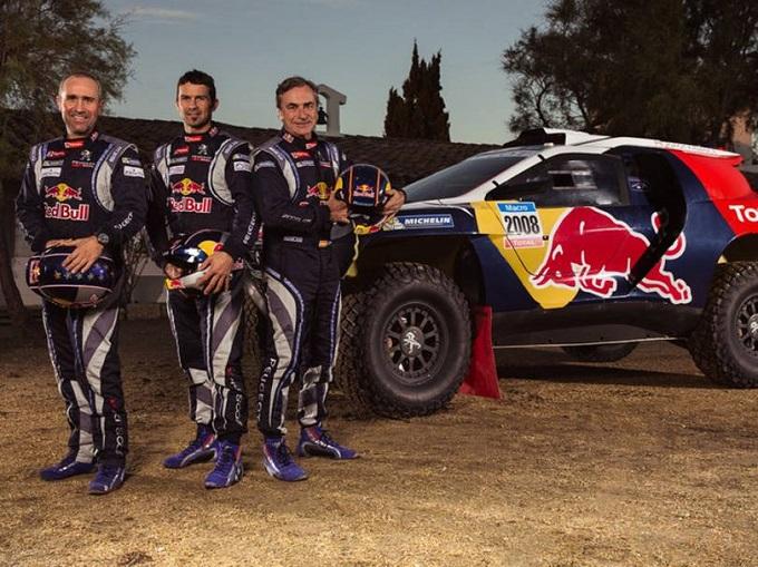 Peugeot, in un video tutta la sua Dakar 2015