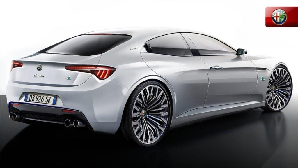 Alfa Romeo Giulia 2015 - Rendering